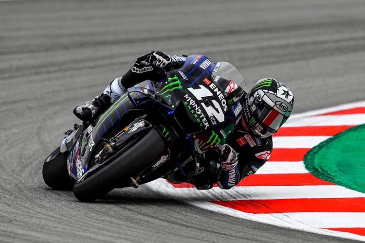 Maverick Viñales cierra el test de MotoGP en Barcelona con el mejor tiempo