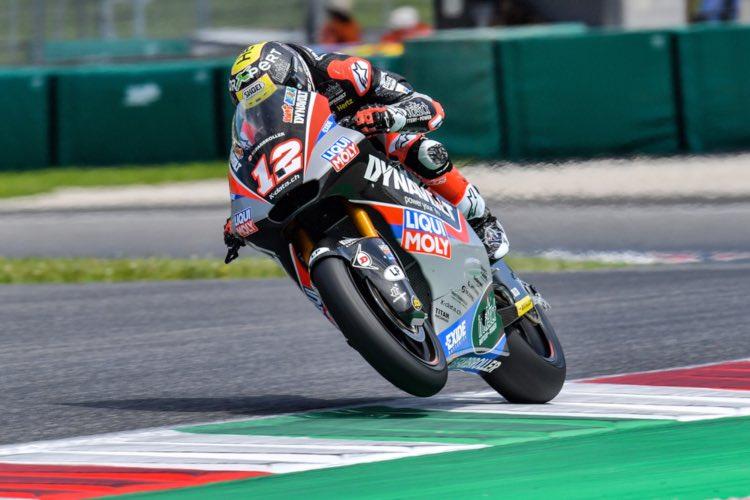 Thomas Lüthi, Moto2, Italia 2019
