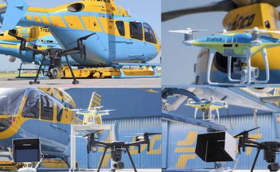 Los drones de la DGT podrán comenzar a multar a partir del 1 de agosto