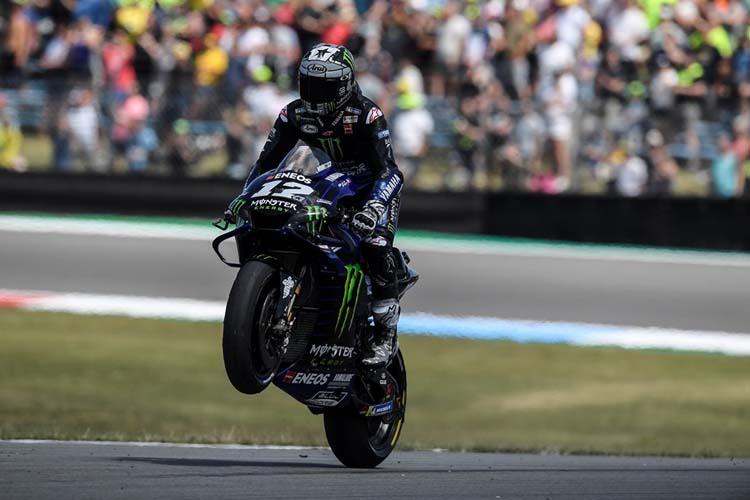 Maverick Viñales espera ampliar su buen estado de forma tras su victoria en el TT Assen.