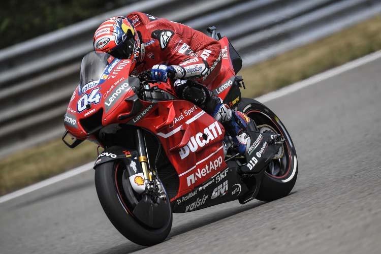 Andrea Dovizioso se ha mostrado bastante pesimita con el rendimiento de la Ducati GP19 durante el verano.