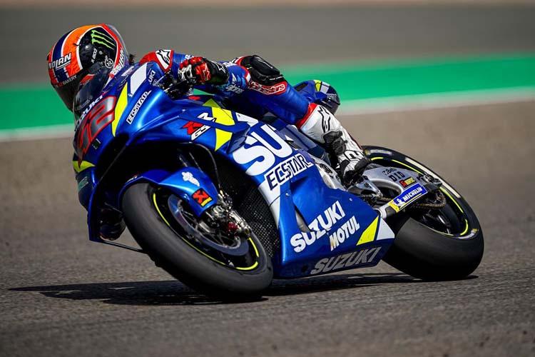 Álex Rins sumó dos abandonos consecutivos antes de llegar al parón veraniego de MotoGP.