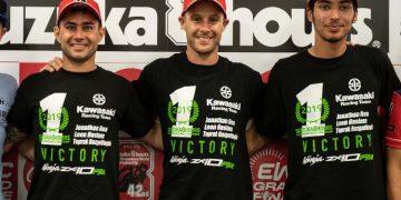 Doble victoria Kawasaki en las 8 Horas de Suzuka: KRT vence y SRC se lleva el título
