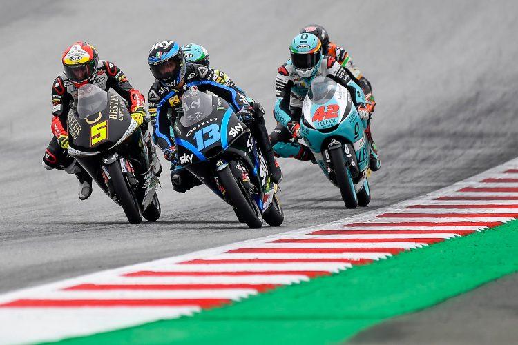 Celestino Vietti suma dos podios esta temporada, uno en Jerez y otro en Montmeló