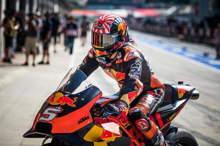 Johann Zarco no ha conseguido replicar en ningún momento el rendimiento que tuvo con la Yamaha del Tech 3 en KTM.