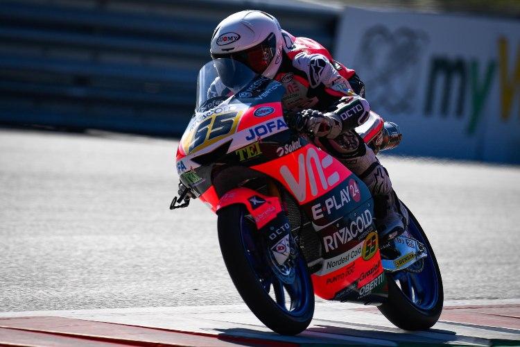 Es la quinta pole de la carrera deportiva de Romano Fenati | motogp.com