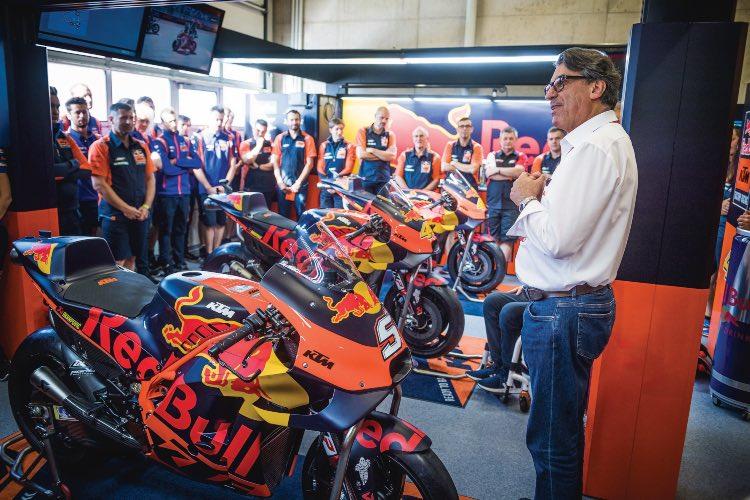 Stefan Pierer, CEO KTM AG | Austria 2019