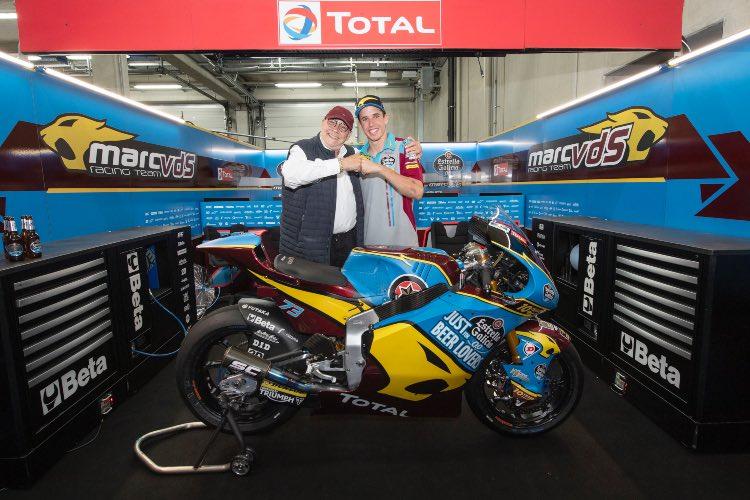 Álex Márquez y Marc Van Der Straten | Moto2