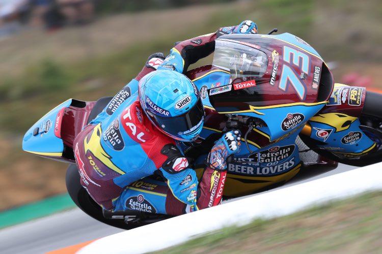 Álex Márquez se lleva la pole en Brno | Moto2 2019