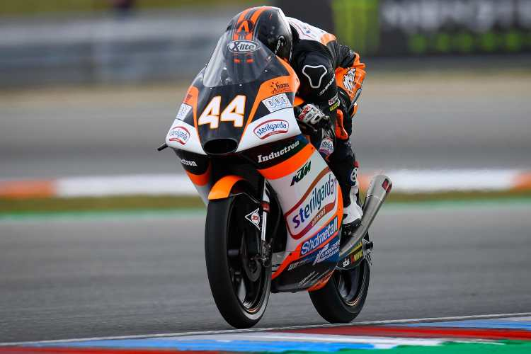Aron Canet vence el GP de la República Checa y es nuevo líder de Moto3