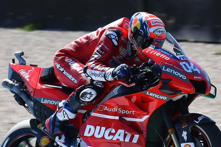 Andrea Dovizioso ha sido el piloto más rápido en el FP1. No lideraba una sesión de libres desde Argentina.