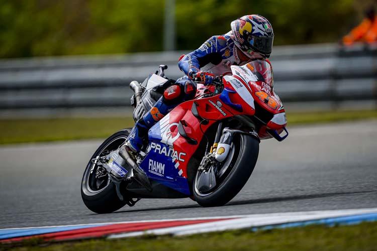 Jack Miller ha cerrado el podio en la República Checa. Es su segundo podio de la temporada.