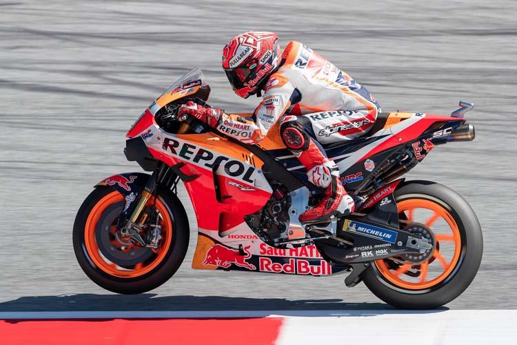 Marc Márquez no ha tenido rival en la clasificación del GP de Austria y ha logrado la pole con récord de la pista incluido.