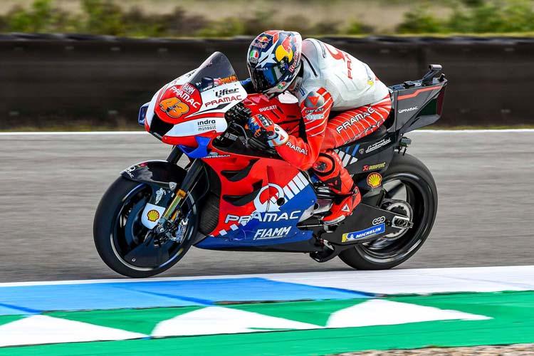 Jack Miller acumula dos podios en las primeras once carreras de la presente temporada con la Ducati GP19.