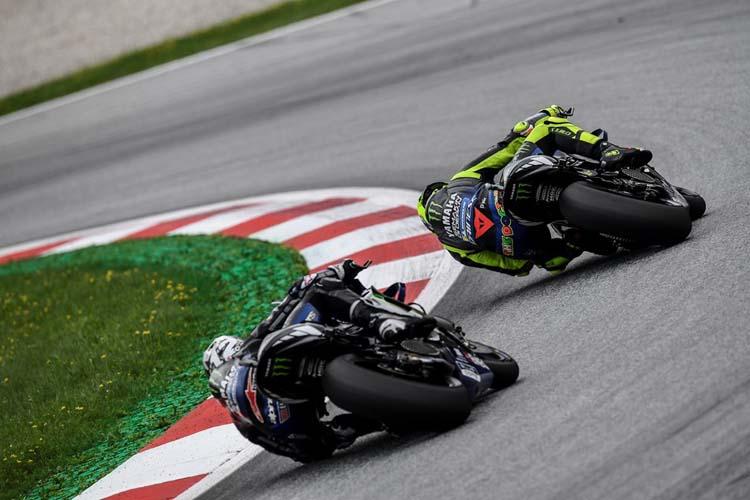 Maverick Viñales y Valentino Rossi buscarán en Silverstone la segunda victoria del año para Yamaha.