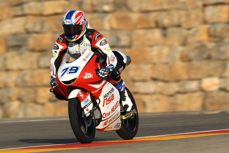 Ai Ogura ha sido la única Honda clasificada entre los cinco primeros | Ⓒ motogp.com