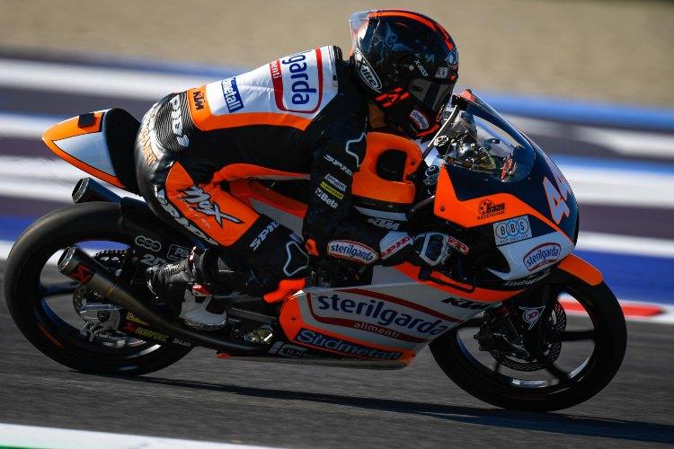 Arón Canet saldrá seis posiciones por delante de su rival directo Lorenzo Dalla Porta