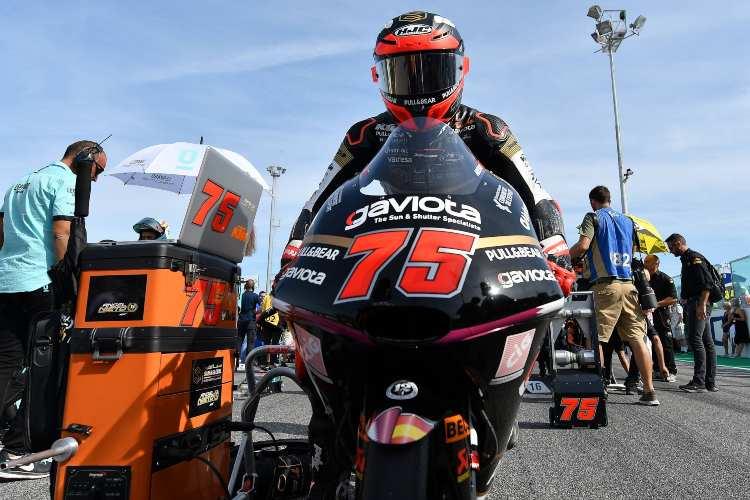 Entrevista con Albert Arenas - Moto3 GP Aragon 2019
