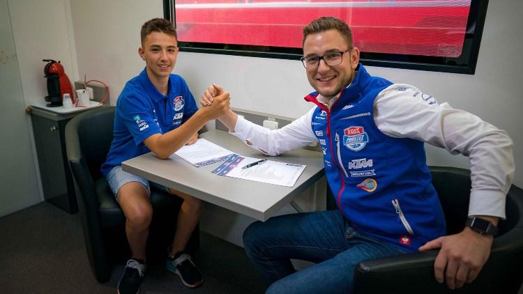Jason Dupasquier ocupará el lugar de Jakub Kornfeil en el PruestelGP en 2020