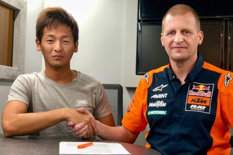 Kaito Toba pasará de Honda a KTM en 2020