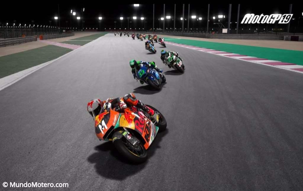 Videojuego MotoGP 19, del dos tiempos a las motos eléctricas