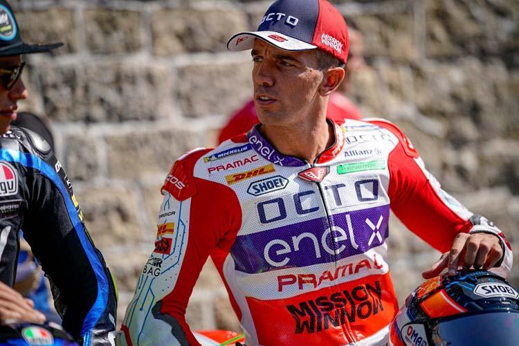 Alex de Angelis ha logrado ante su público la pole de la dos carreras que disputará MotoE en Misano.