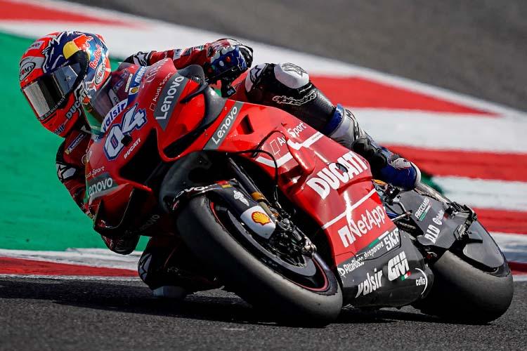 MotorLand Aragón debería ser un circuito más favorable a la Ducati GP19 tras el complicado fin de semana de la marca en Misano.