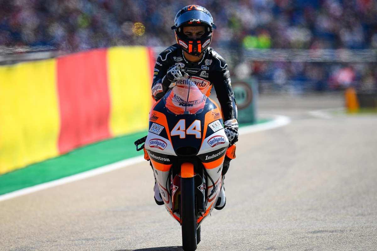 Aron Canet - Moto3 Aragon 2019