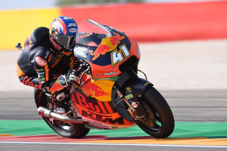 Brad Binder gana en Aragón | Moto2 2019