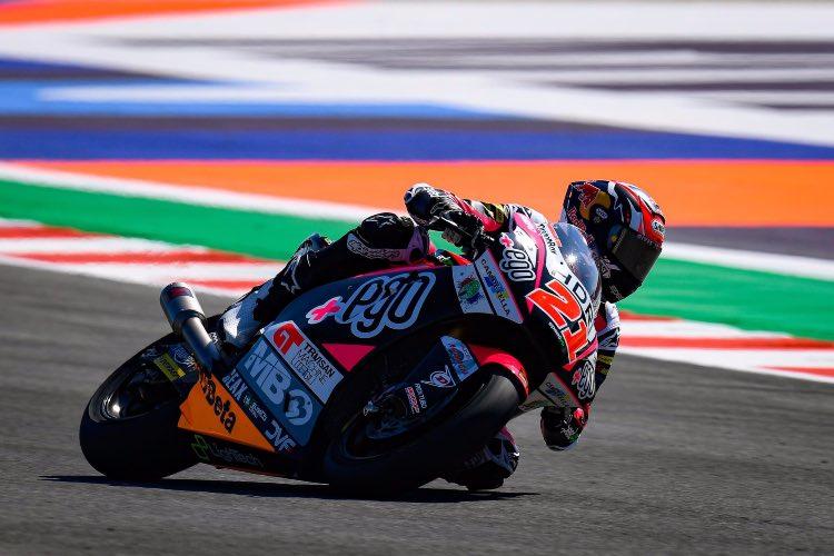 Fabio Di Giannantonio consigue la primera pole de su vida en Misano | Moto2 2019 © MotoGP.com