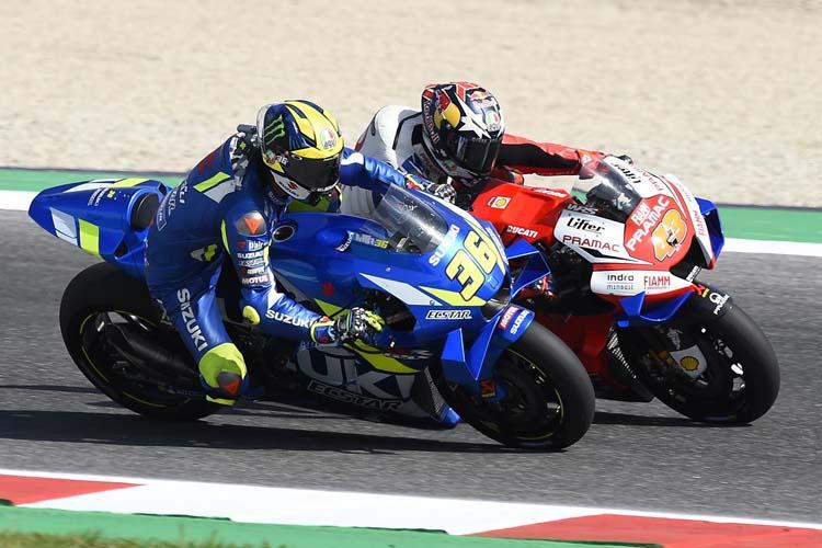 Joan Mir será uno de los ocho pilotos que competirán en casa en el GP de Aragón de MotoGP.