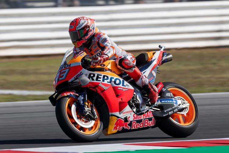 Marc Márquez aterriza en MotorLand Aragón, pista en la que tiene su propia curva, con 93 puntos de ventaja al frente de la clasificación.