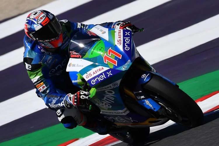Matteo Ferrari ha completado un fin de semana perfecto en Misano y se destaca al frente de la clasificación de MotoE.