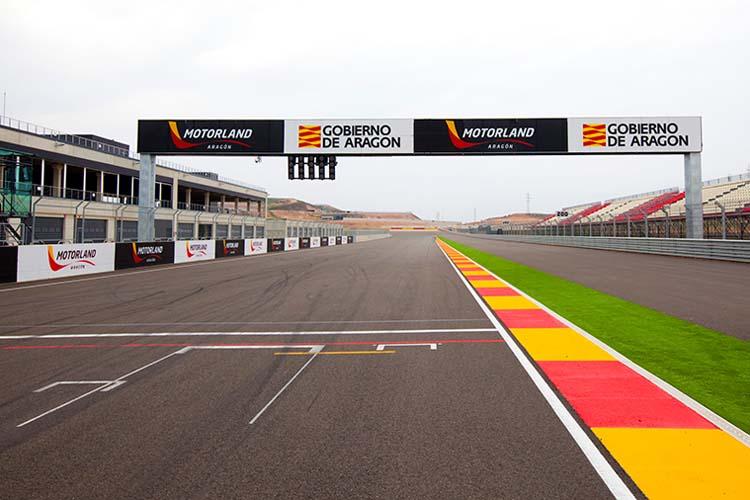 El circuito de MotorLand Aragón es uno de los más rápidos y técnicos de todo el campeonato.