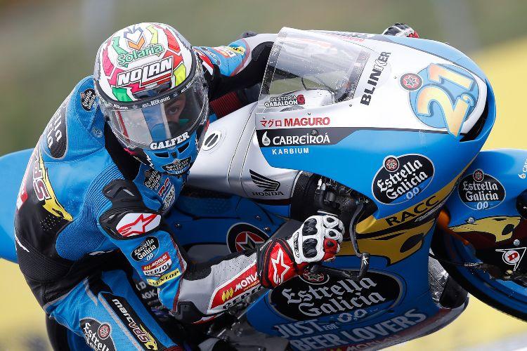 Alonso López ha logrado en Tailandia el primer podio de su vida