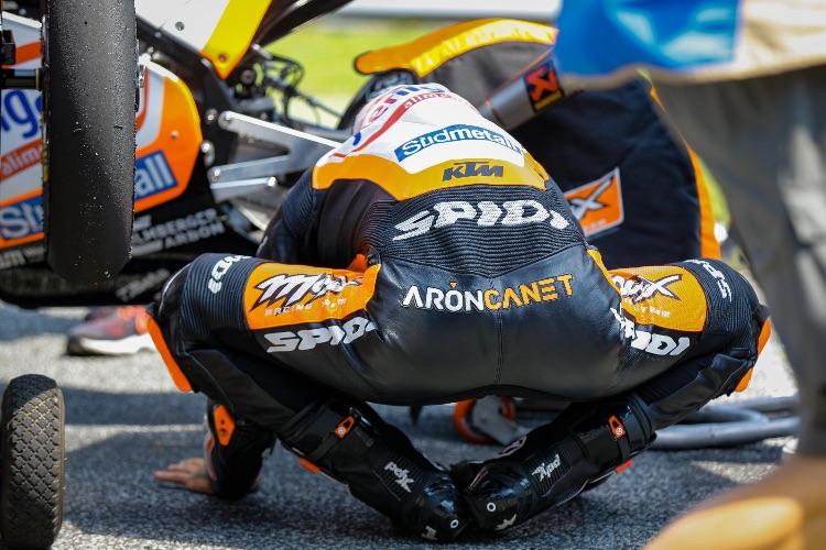 Canet no tiene lugar al error si quiere retrasar el alirón de Dalla Porta en Australia | © Motogp.com