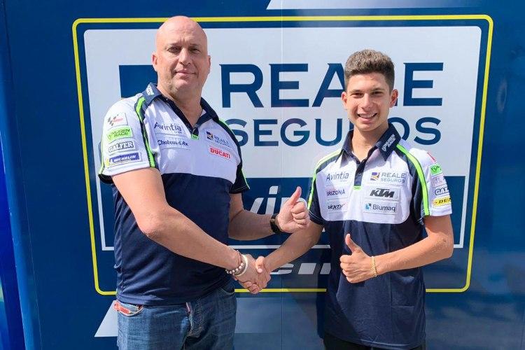 Carlos Tatay ha firmado por dos temporadas con el Reale Avintia Racing