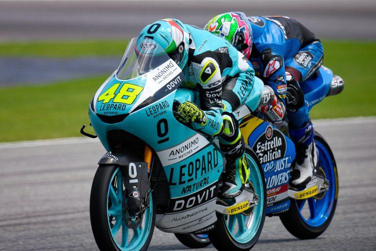 Dalla Porta y Alonso López durante el pasado GP de Tailandia | © motogp.com