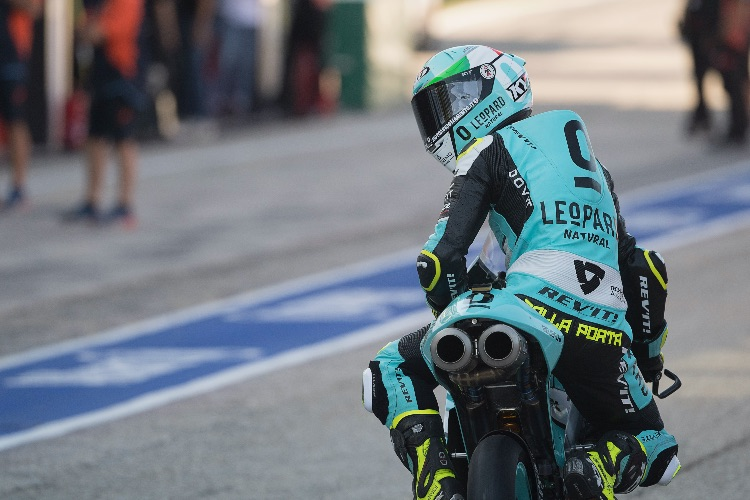 Dalla Porta subirá a Moto2 el próximo año de la mano del Italtrans Racing