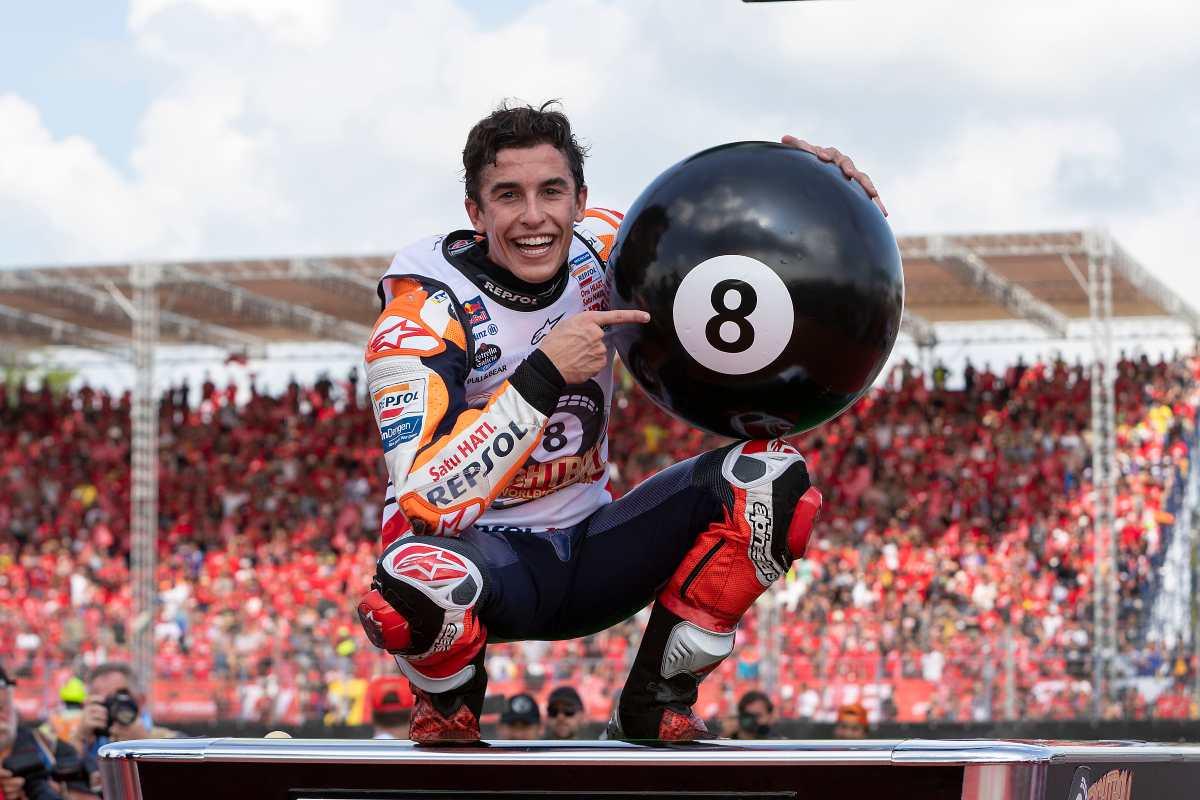 Marc Márquez, el coleccionista de récords, suma su octavo título