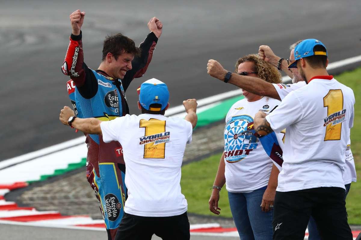 Álex Márquez se proclama campeón de Moto2 2019