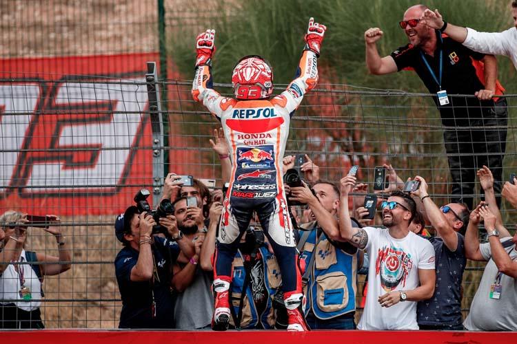 Marc Márquez puede proclamarse campeón de MotoGP por sexta vez en el circuito de Buriram.