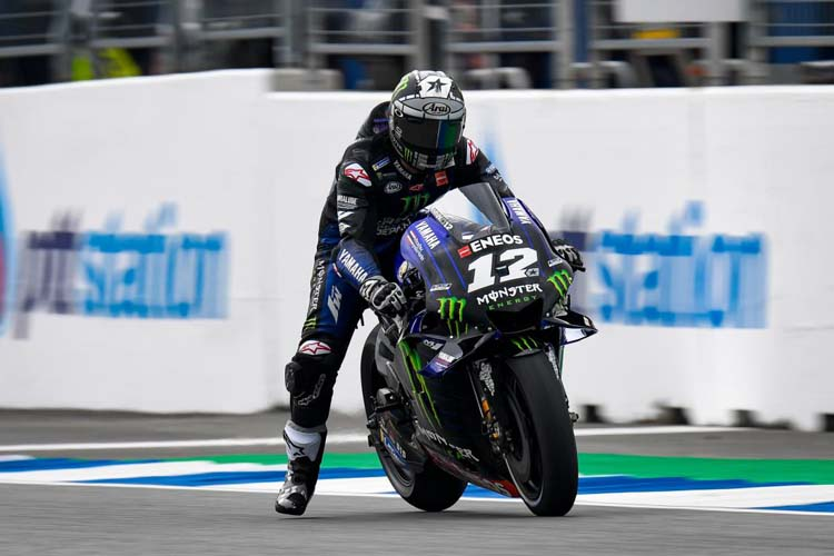 Maverick Viñales ha sido el más rápido del FP1 tras firmar un tiempo de 1:30.989 a los lomos de su Yamaha M1.