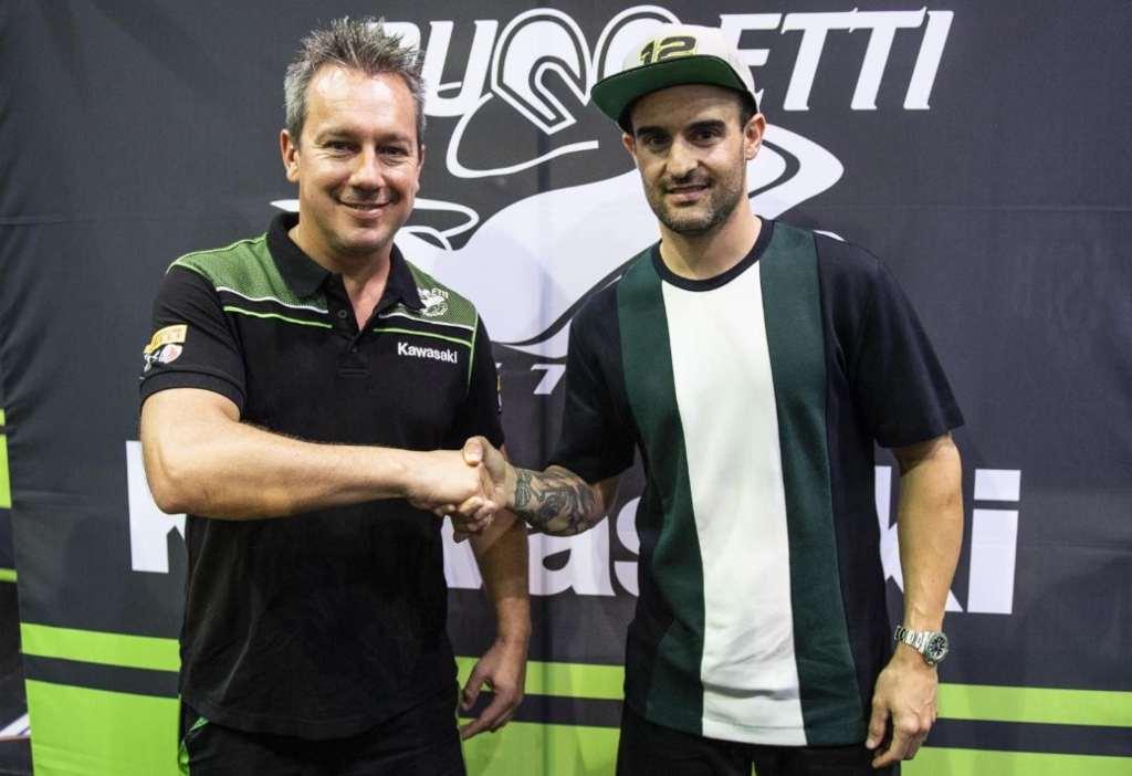 Xavi Fores vuelve al Mundial de SBK 2020 con Kawasaki Puccetti Racing