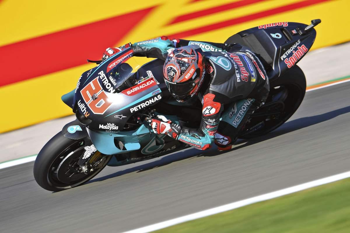 Quartararo lidera el primer día de test de MotoGP 2020 en Valencia