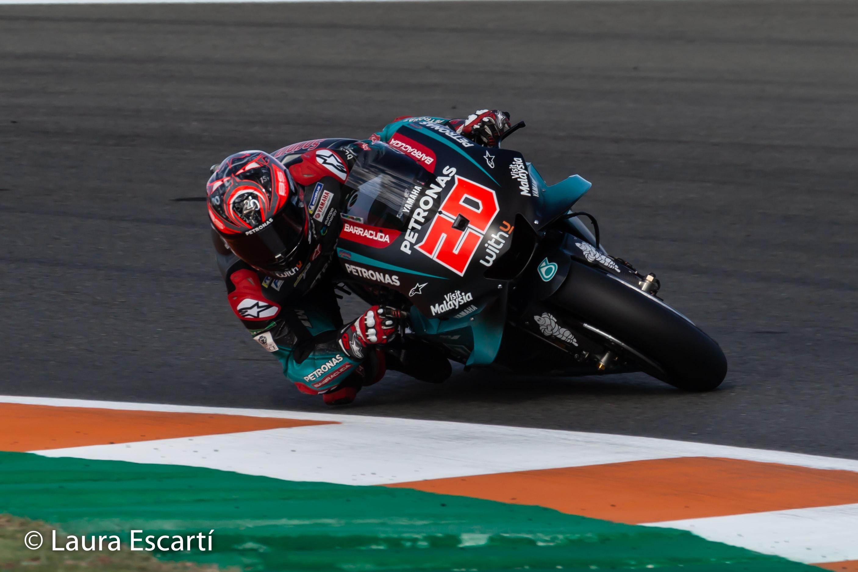 Fabio Quartararo se lleva la Pole de MotoGP en Valencia