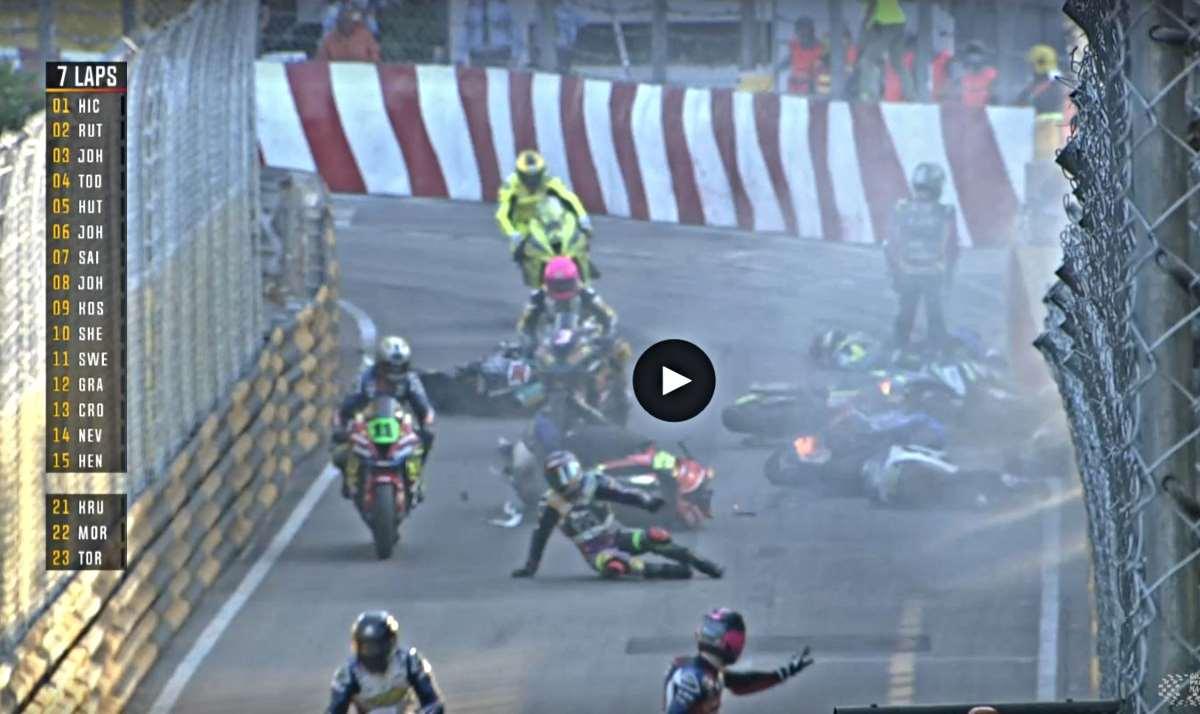 Cancelado el 53º Gran Premio de Macao por bandera roja