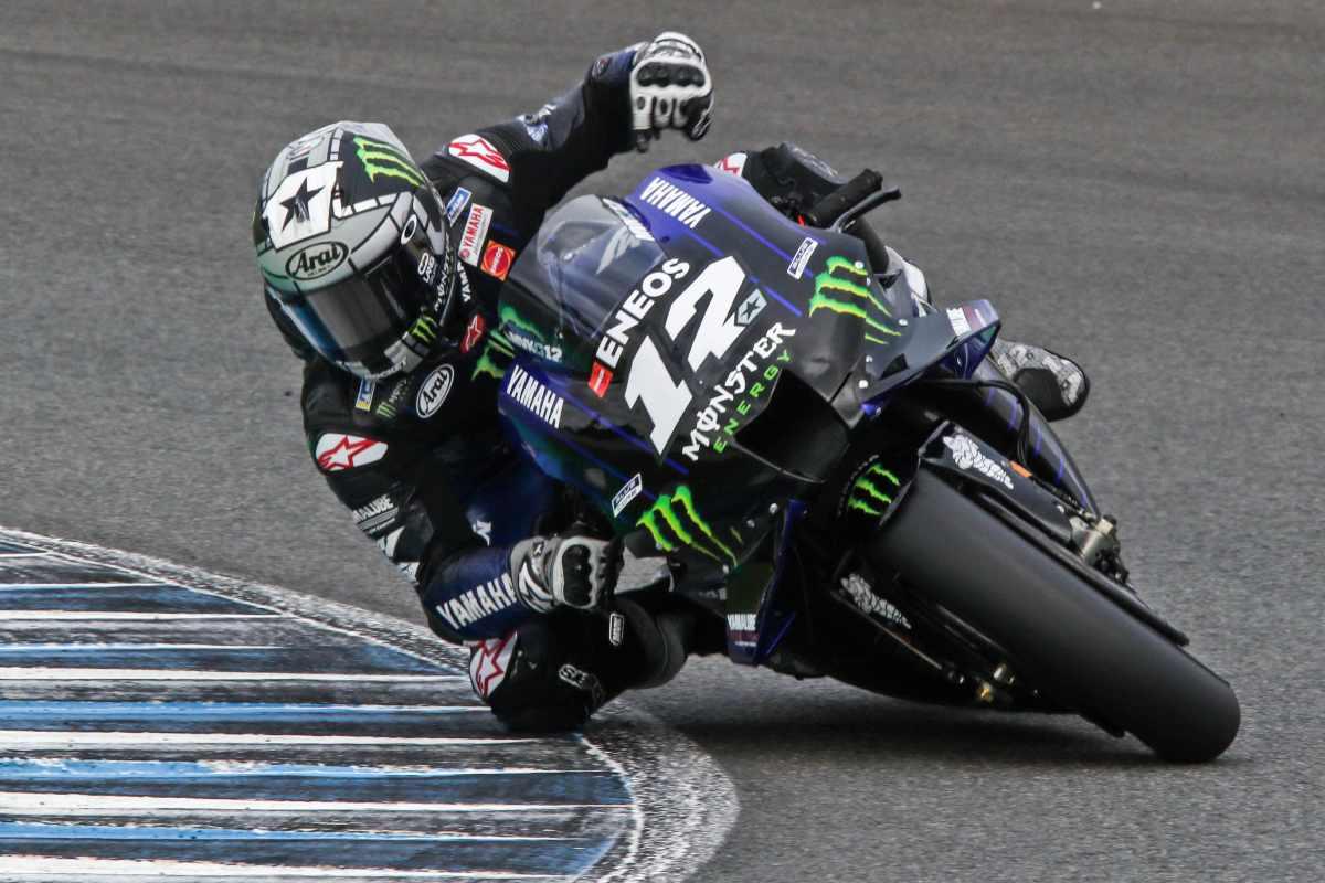 Yamaha y Viñales marcan la pauta en el primer día de test de MotoGP en Jerez
