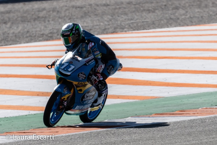 Sergio García reina en Valencia; Artigas sube al podio en su primera carrera