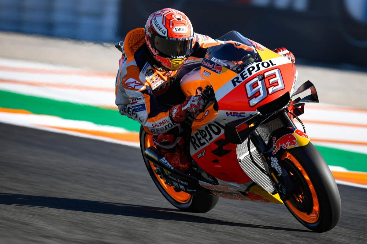 Marc Marquez vence el Gran Premio de MotoGP de Valencia